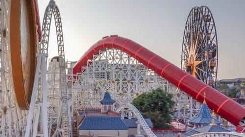 Disney Trip: Roller Coaster (California Screamin' / Incredicoaster)
