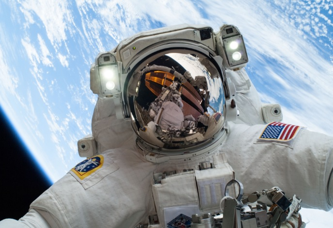 What happens when you take an astronaut to altitude?