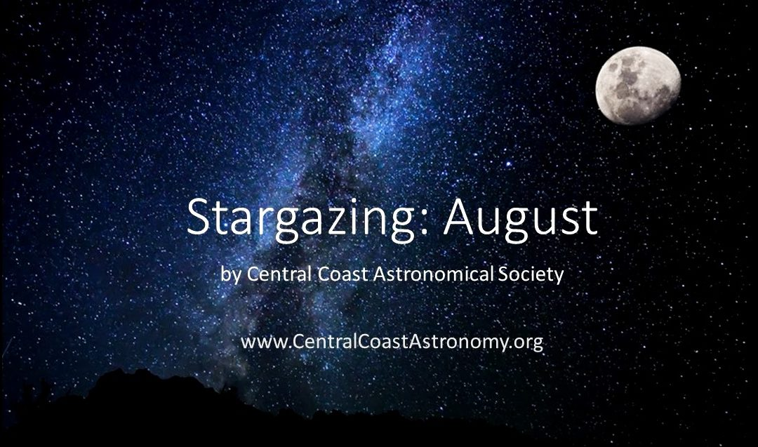 Star gazing for August